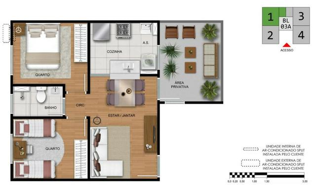Apartamento Minha Casa Minha Vida - Foto 7