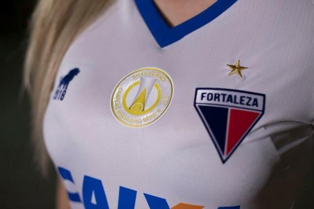 Camisa Fortaleza Glória Feminina 2019 Oficial - Foto 3