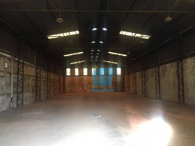 Galpão para alugar, 750 m² - piratininga - osasco/sp - ga0439.