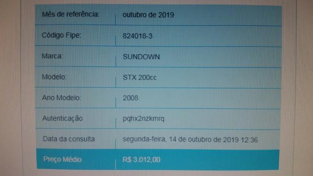 Moto Sundown STX 200cc - Foto 6