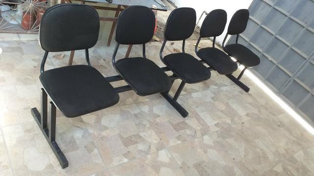 Cadeiras - Longarina 5 Lugares