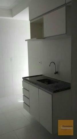 AP0648 - Apartamento com 3 dormitórios à venda, 70 m² por R$ 300.000 - Jardim das Indústri - Foto 2