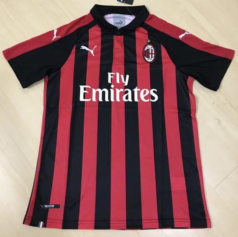 a9f5b9d0aafef Camisa Oficial AC Milan 2019 - Roupas e calçados - Centro