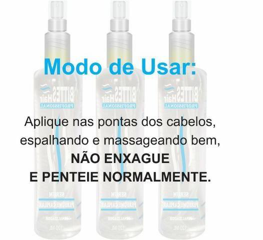 Perfume Capilar 120 ml Fluido De Brilho Hidratação Bittes Hair - Foto 3