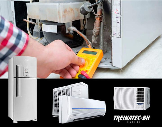 Conserto de geladeira bebedouro freezer ar condicionado
