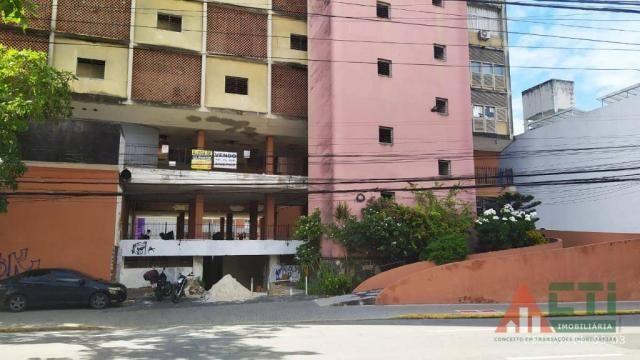 Apartamento com 1 dormitório para alugar, 32 m² por R$ 550,00/mês - Boa Vista - Recife/PE - Foto 12
