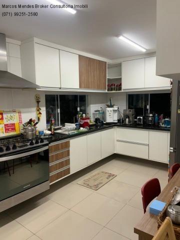 Excelente casa com 5/4, pronta para morar, em condomínio fechado, lazer e portaria 24 hs. - Foto 15