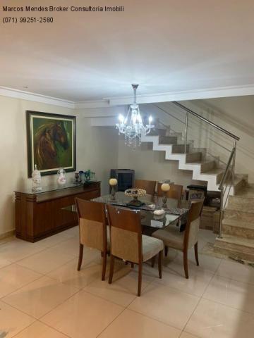 Excelente casa com 5/4, pronta para morar, em condomínio fechado, lazer e portaria 24 hs. - Foto 11