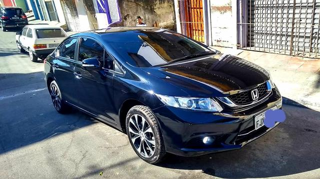 Honda civic lxr unico dono - Foto 5