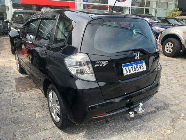 Honda Fit automático 1.4 2014 Banco de couro j - Foto 3