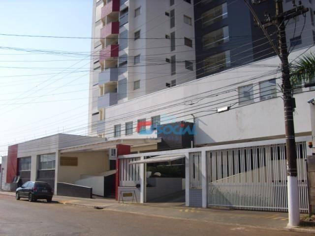Apartamento mobiliado para locação, cond. porto velho residence service - aptº 1103 - noss