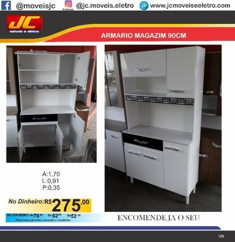 Lindo armario de cozinha Gazim 090 . Fazemos entregas