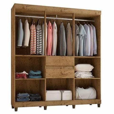 Super oferta guarda roupas e cômoda - Foto 2