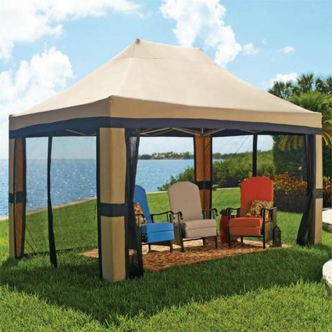 Tenda tipo gazebo com cortinas 3x4 - Foto 3