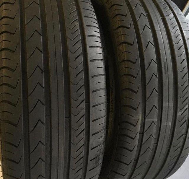 ?Pneus semi novos 205/55-16 Bridgestone - Foto 19