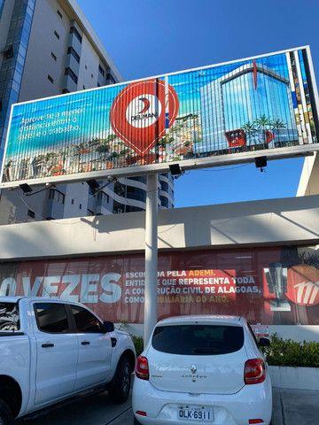 Painel Triedo de 9x3m para propaganda - usado - Foto 3