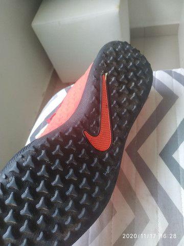 Chuteira da Nike N 35 bem conservada! - Foto 4