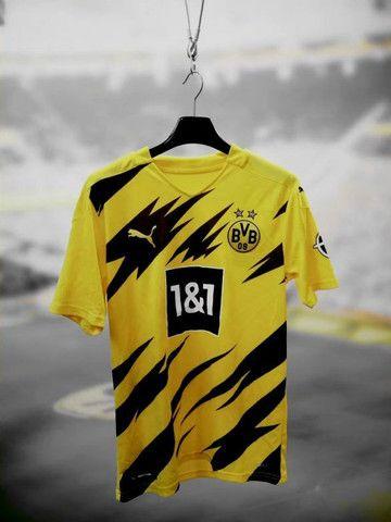 Camisas dos principais times Nacionais e Internacionais da temporada 20/21 - Foto 5