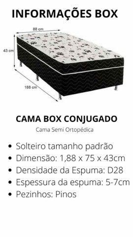 Cama box conjugada  - Foto 5