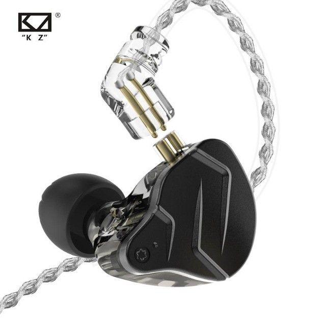 Fone In-ear Kz Zsn Pro X - Retorno De Palco Profissional - Foto 5