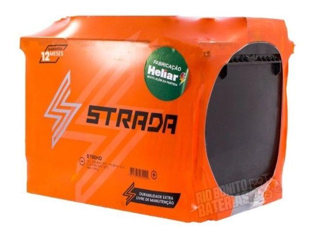 Baterias A partir de 198,00 Strada (Fabricação Heliar) 12 meses de Garantia - Foto 3