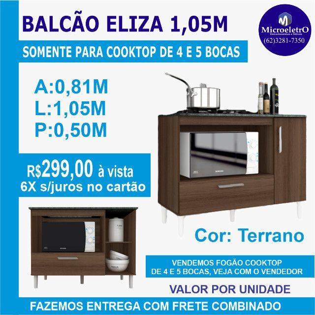 Balcão Eliza Terrano