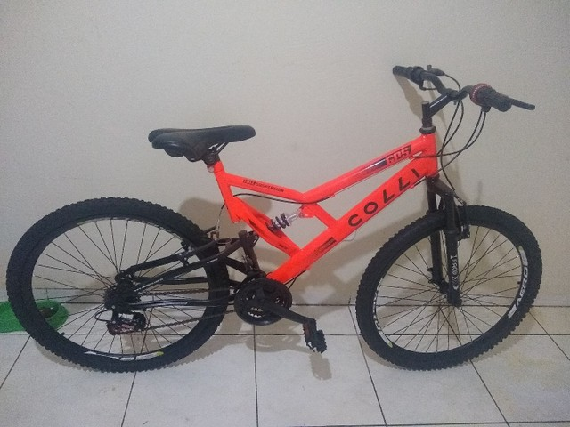 Bicicleta Colli Laranja Neon Aro 26  - Foto 3