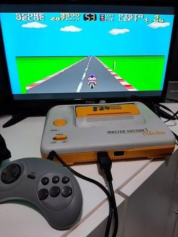 Master System 3 Collection com 120 Jogos   - Foto 4