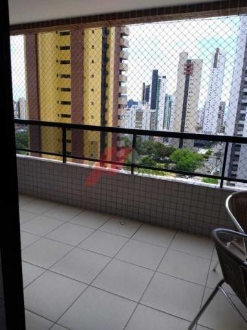Apartamento à venda com 3 dormitórios em Manaíra, João pessoa cod:37812 - Foto 4