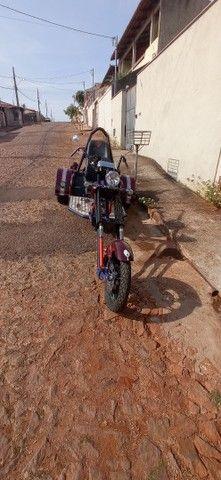 Triciclo motor de Fusca 1.500 ano 2014 impecável. - Foto 5