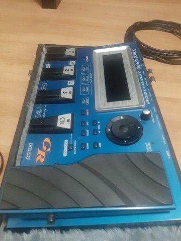 Pedaleira Sintetizador Roland Gr55 Com Gk3 - Foto 2