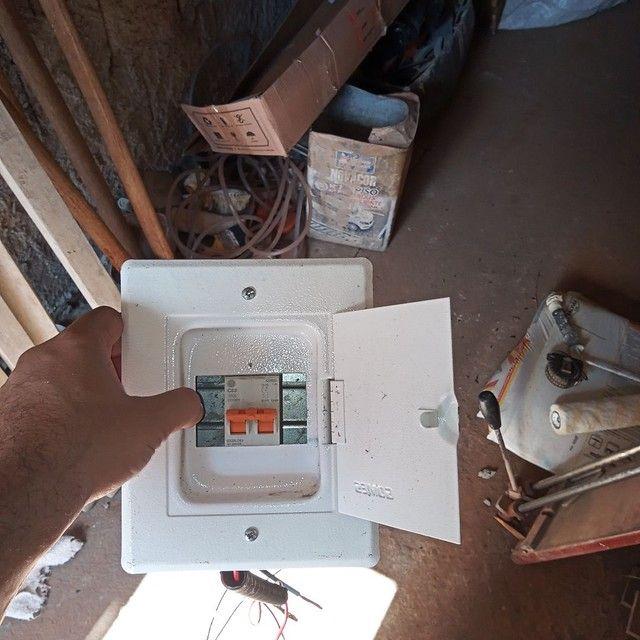 Caixa distribuiçao metal pequena com Djuntor g30sl - Foto 2