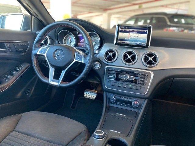 Mercedes GLA 250 Sport 2.0 2015 impecável, teto solar panorâmico, rodas 19, aceito troca - Foto 3