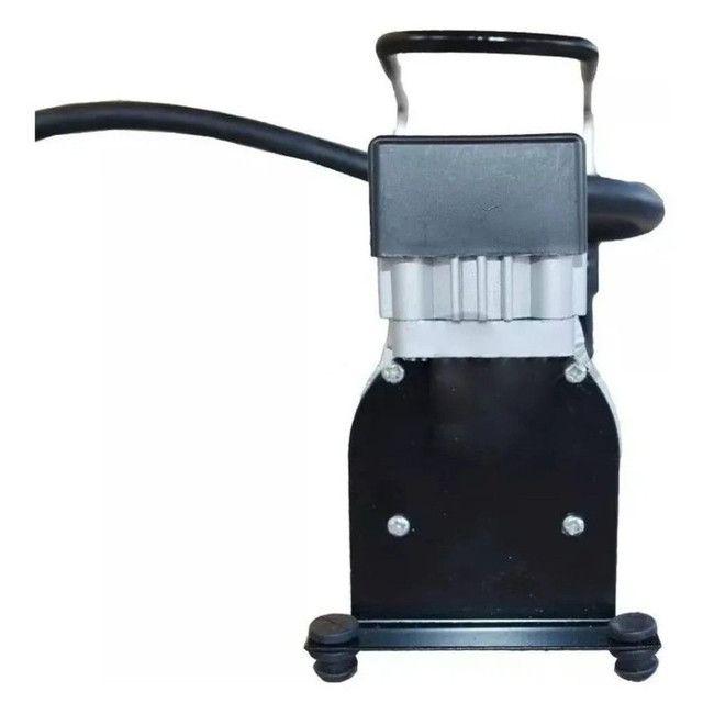 Compressor De Ar Veicular Profissional Portatil 12v Carro Le-975 - It Blue - Foto 4