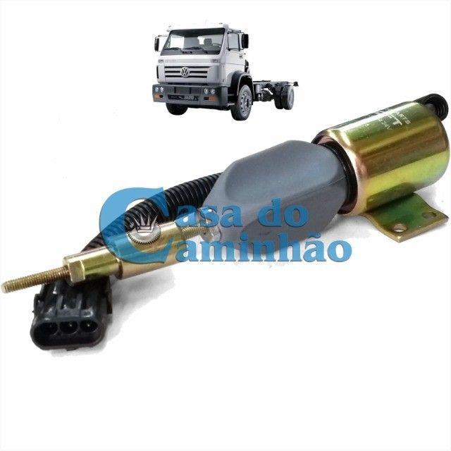 Válvula Solenoide Corte Comb 12v - Vw 17220 / 24220 / 24250