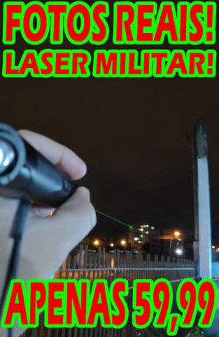 Laser Extremamente Poderoso! Faz Risco no Céu a Noite