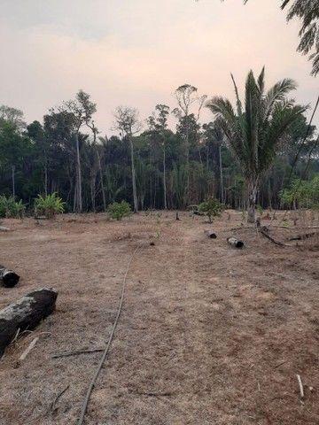 Vendo terreno no km 18 sentido Humaitá 45000 mil aceito proposta