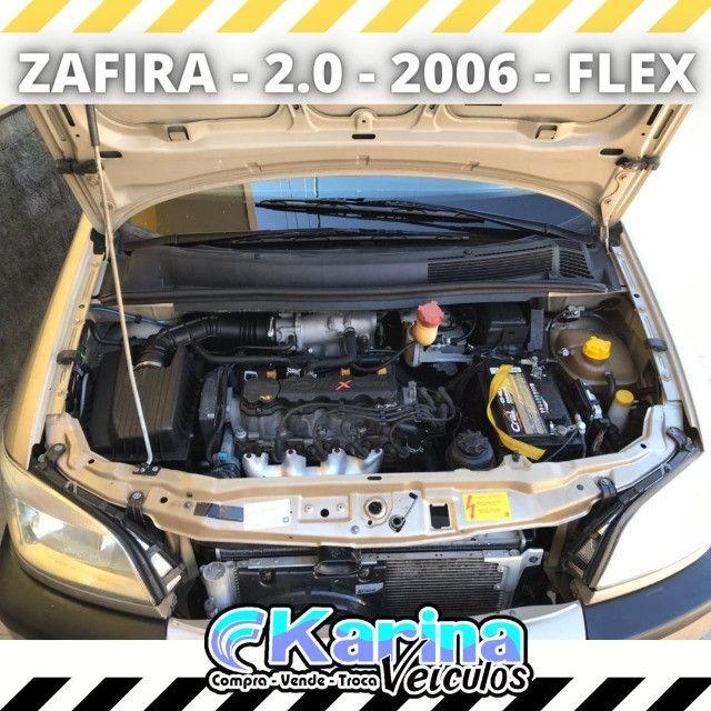 Zafira Comfort - 2.0 - 2006 - Flex - Carro impecável!!! - Foto 5
