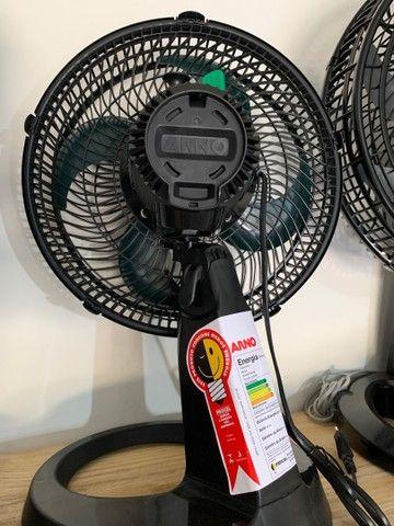 Ventilador Arno de Mesa 30cm turbo silence 220v (novo) - Foto 2