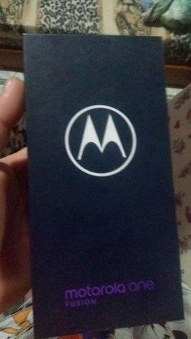 Motorola fusiona novo na caixa 128 giga de memória 5de ham - Foto 6