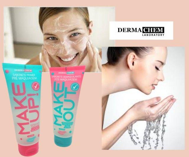 2 Kit Skin Care Dermachem Sabonete Líquido Prime Make Up E Demaquilante Make Out - Foto 4