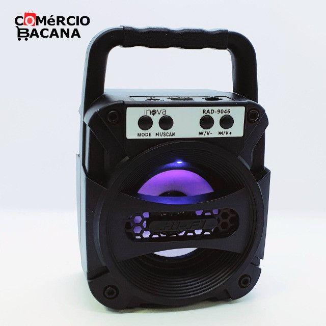Mini caixa de som Inova RAD-9046 - Foto 2