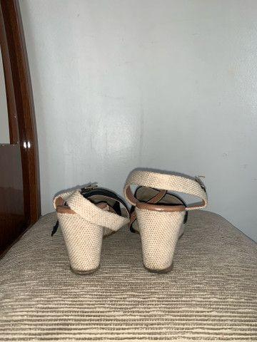 Sandália spadrille - Foto 4