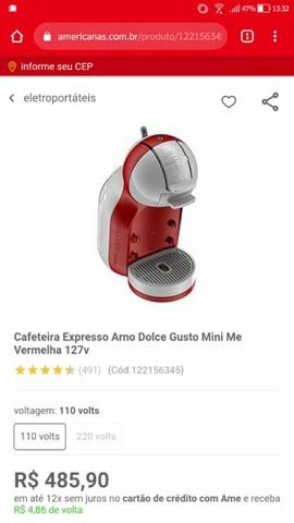 Cafeteira Arno Dolce Gusto - Foto 3