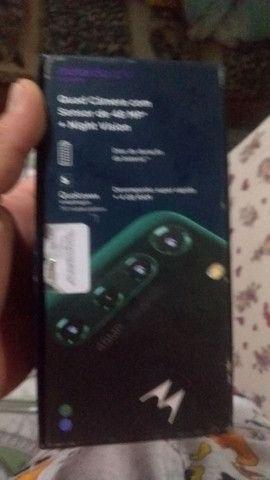 Motorola fusiona novo na caixa 128 giga de memória 5de ham - Foto 5