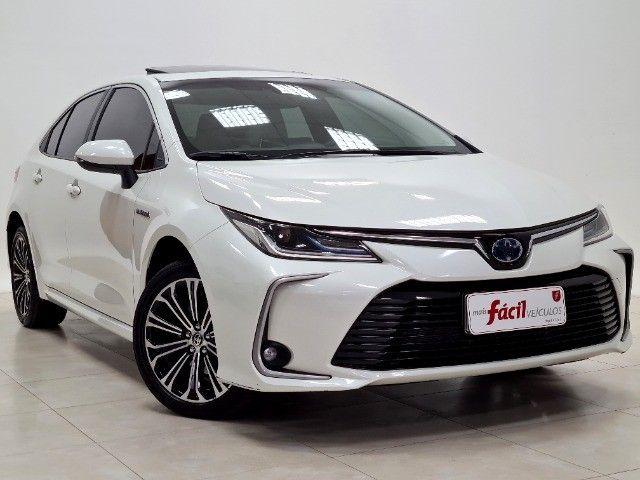 corolla altis premium hybrid 1.8 flex 2021 aceito troca - Foto 2