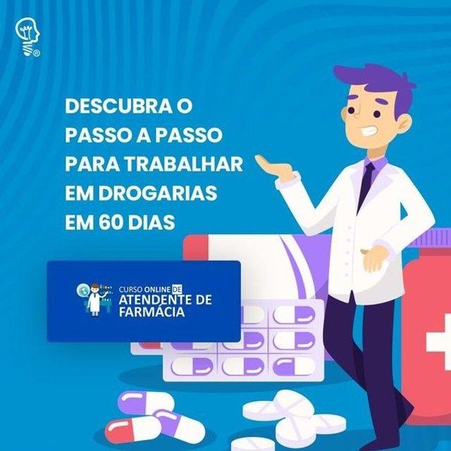 Curso atendente de farmácia  - Foto 3
