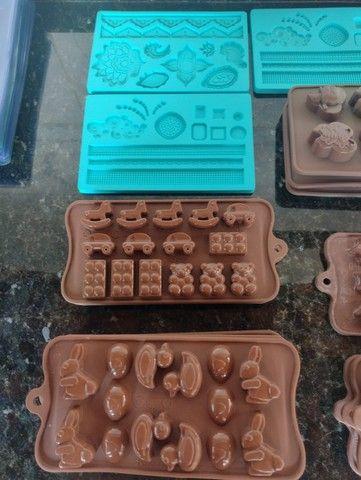Formas para chocolate