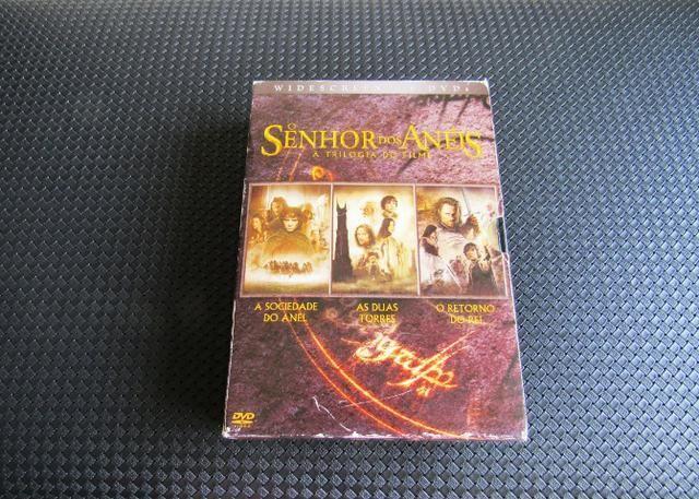 Box Senhor Dos Anéis Trilogia 6 Dvd's - CDs, DVDs etc