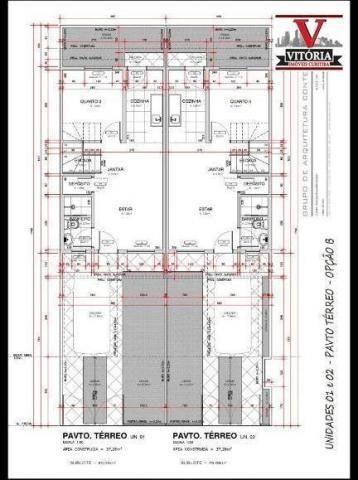 Casa com 2 dormitórios à venda - alto boqueirão - curitiba/pr - Foto 4